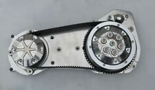 """Polished 2"""" Tuxedo Style Ultima Primary Belt Drive for Harley Softail 90-06"""