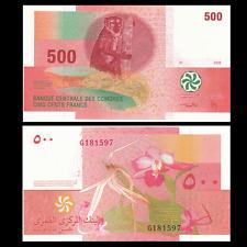 Comoros 500 Francs, 2006, P-15, UNC