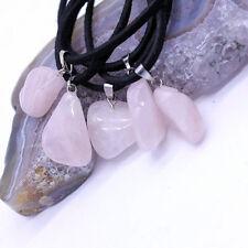 Collar con colgante piedra natural mini, chakra positivo, cuarzo, malaquita, etc