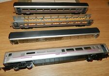 Window tinting pack & blanks for Hornby East Coast Mk4 Coaches Flying Scotsman
