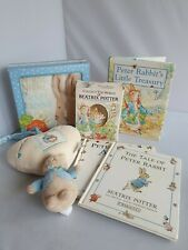 Peter Rabbit Musical Cot Toy and Mixed Book Bundle (C5)