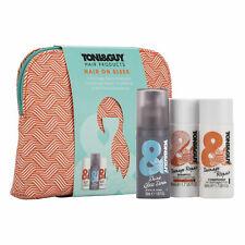 TONI&GUY Hair on Sleek Washbag Gift Set Shampoo,Conditioner &Shine Serum