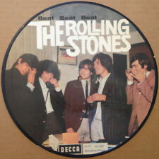 """THE ROLLING STONES, BEAT BEAT BEAT, LTD OFFICIAL 10"""" VINYL PICTURE DISC (NEW)"""