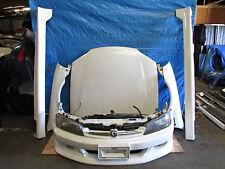 JDM 98-02 Honda Accord Euro R CL1 Front Nose Cut Hood Fenders Bumper H22a