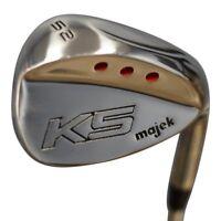 Majek Golf Senior Men's Gap Wedge (GW) 52° Right Handed Senior Flex Steel Shaft