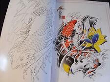 Tatuaje Diseño Flash Libro A3 Dragones Calaveras máscaras Bonito Libro con líneas de 60 páginas