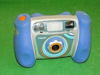 Vtech KIDIZOOM Digital Kids Camera Blue working order Free Post