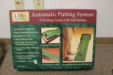 Links Traditions Automatic Putting System with Ball Return Training Aid - 9 Feet