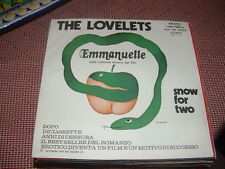 "THE LOVELETS "" EMMANUELLE -SNOW FOR TWO  ""  ITALY'74  O.S.T."