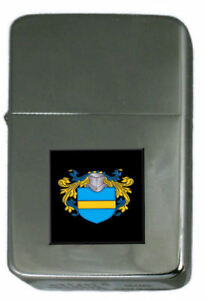Elliot Family Crest Surname Coat Of Arms Cigarette Ligther Personalised Engraved