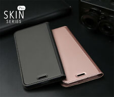 For Huawei P Smart / Enjoy 7S Magnetic Leather Wallet Card Flip Case Stand Cover