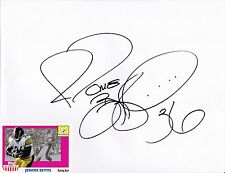 Pittsburgh Steelers JEROME BETTIS autograph signed large paper full name HOF 15