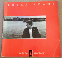 Bryan Adams - Into The Fire World Tour '87 tour programme
