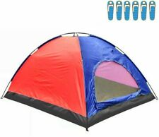 Tente Camping pour 6 Personnes Imperméable Camping Camping Carpe Promotion