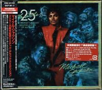 "Michael Jackson ""Thriller 25th anniv."" Japan LTD Edition CD+DVD w/OBI EICP-961"