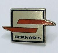 Sernadis Brand Badge Pin France Vintage Rare (G5)