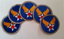 Lot de 5 Patch US Army Air Force cut Edge WWII - REPRO