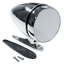 Mustang Exterior Mirror Bullet Large Base Chrome Driver Side 1965-68