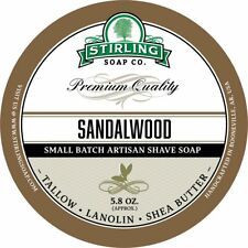 Stirling Soap Company Sandalwood Shave Soap 5.8 oz