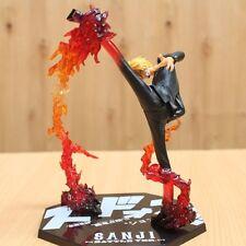 One Piece Anime POP Sanji Battle.Ver Toy Action Figure Figurine Doll Model Gift
