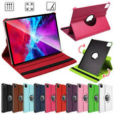 """360°Rotating PU Leather Smart Case Cover Stand for Apple iPad Pro 11"""" 12.9"""" 2020"""