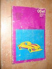 1964-1970 OPEL KADETT SHOP MANUAL SERVICE BOOK BUICK 69 67 66 65 CHILTONS REPAIR