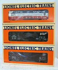 Lionel 6-19272: 6464 Boxcar Series Edition #4   Maine, SP, PRR   NIB