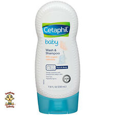 Cetaphil Baby Wash and Shampoo w/ Organic Calendula Authentic & Brand New 7.8oz
