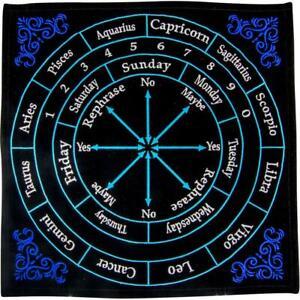 Colorful Astrology Pendulum Ouija Answer Mat!