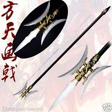 KUNG-FU The day the picture Halberd spear Bayonet sword Martial arts knife #0030