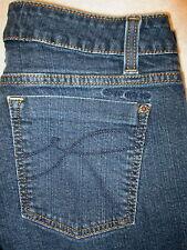 DKNY Slim Straight Stretch Womens Dark Blue Denim Jeans Size 10 x 26  KCMJJ174