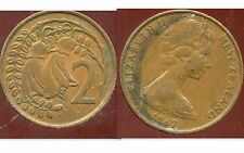 NOUVELLE ZELANDE 2 cents  1967