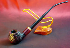 """Original Mr.Brog smoking pipe """" CHURCHWARDEN RED CARVED"""" HAND MADE PERFECT GIFT"""