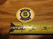 VINTAGE NHL BOSTON BRUINS 2 INCH ROUND  PATCH SWEET LOOKING
