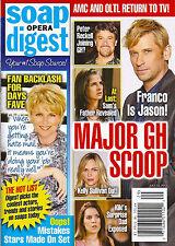 General Hospital, Shawn Christian Melissa Reeves July 22, 2013 Soap Opera Digest