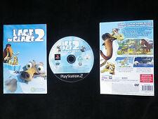 JEU Sony PLAYSTATION 2 PS2 : L'AGE DE GLACE 2 (enfants COMPLET envoi suivi)