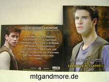 The Hunger Games Movie Trading Card - 1x #004 Gale Hawthorn
