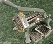 Commercial FRENCH FRY CUTTER SLICER 3/8 1/2 Stainless Steel Fruit Vegetable new