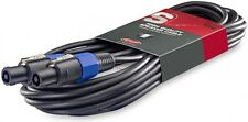 Câble Haut Parleur Speakon Mâle Mâle Section Chaque Conducteur 2,5 mm²  10 Metre
