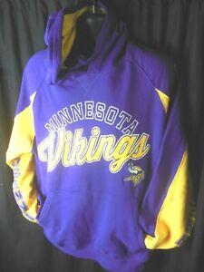 Minnesota Viking NFL Men's G-III Hooded Pullover Hands/High Sweatshirt