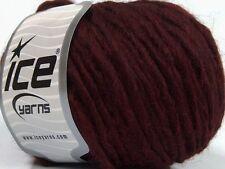 Peru Alpaca Bulky Yarn - Maroon #47710 Ice 50g Merino Wool Alpaca Acrylic