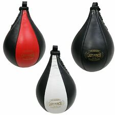 Last Punch Boxing Bag Punching Mma Training Speed Ball Leather W/ Steel Swivel