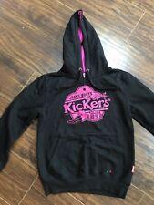 Kickers Black Hoodie Age 12 Years
