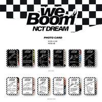 NCT DREAM - 3RD MINI ALBUM WE BOOM PHOTO CARD JISUNG JENO JAEMIN HAECHAN RENJUN