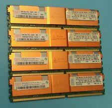 8GB (4X 2GB) PC2-5300F MEMORY RAM FOR HP WORKSTATION XW6600 XW8400 XW8600