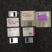"""intel Gig-Nic 2000 IBM Super Digitizer 3.5"""" Floppy Disk Software Set"""