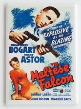 The Maltese Falcon Fridge Magnet movie poster