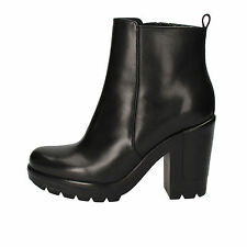 women's shoes ANGELO BERVICATO 6 (EU 36) ankle boots black leather AD475-B