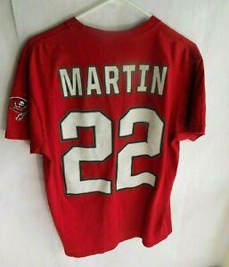 NFL Men's Red Jersey Tampa Bay BUCCANEERS Shirt Sz M, Medium  #22 Doug Martin