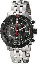 Tissot PRS 200 Black Dial T-Sport Chrono T0674172105100 Mens Swiss Made Watch
